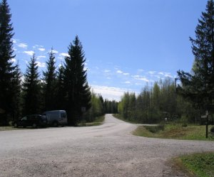 A Finnish country road